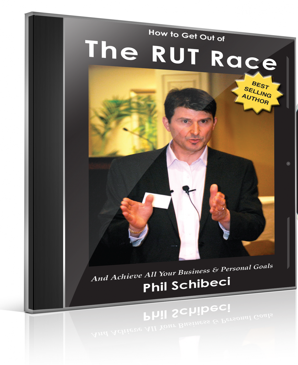 How to Get Out of The RUT Race AUDIO BOOK MP3 CD.