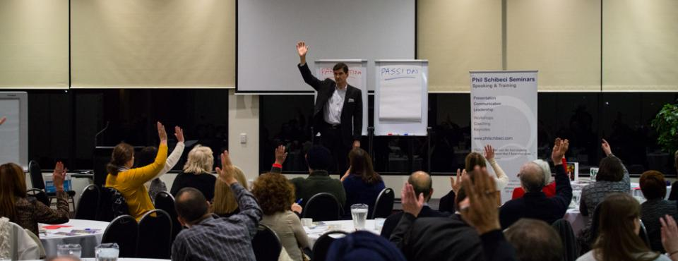 Phil Schibeci and the 5 Steps to Speaking Success in Melbourne